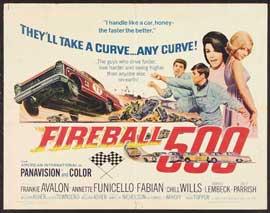 Fireball 500 - 22 x 28 Movie Poster - Half Sheet Style A