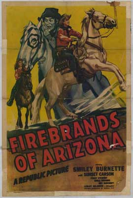 Firebrands of Arizona - 11 x 17 Movie Poster - Style A