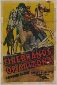 Firebrands of Arizona - 27 x 40 Movie Poster - Style A