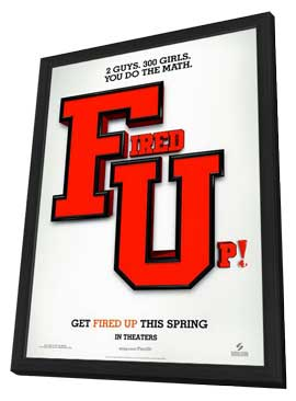 Fired Up - 11 x 17 Movie Poster - Style A - in Deluxe Wood Frame