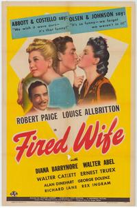 Fired Wife - 27 x 40 Movie Poster - Style A