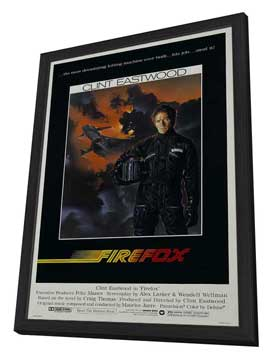Firefox - 27 x 40 Movie Poster - Style A - in Deluxe Wood Frame