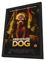 Firehouse Dog - 27 x 40 Movie Poster - Style A - in Deluxe Wood Frame