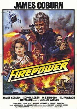 Firepower - 11 x 17 Movie Poster - German Style A