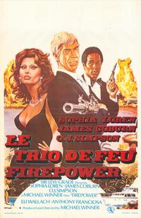 Firepower - 11 x 17 Movie Poster - Belgian Style A