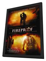 Fireproof - 27 x 40 Movie Poster - Style A - in Deluxe Wood Frame