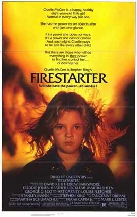 Firestarter - 11 x 17 Movie Poster - Style A