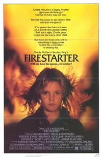 Firestarter - 43 x 62 Movie Poster - Bus Shelter Style A