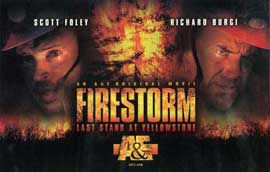 Firestorm: Last Stand at Yellowstone - 27 x 40 Movie Poster - Style A