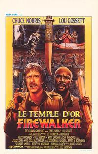 Firewalker - 27 x 40 Movie Poster - Belgian Style A