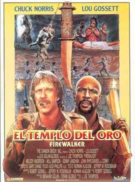 Firewalker - 11 x 17 Movie Poster - Spanish Style A