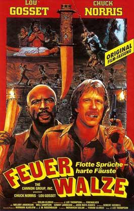 Firewalker - 11 x 17 Movie Poster - German Style A