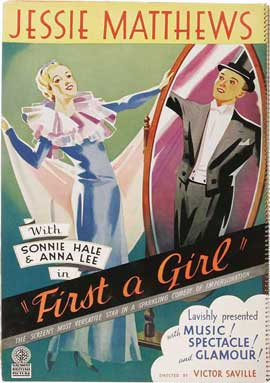 First a Girl - 27 x 40 Movie Poster - Style A