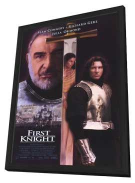 First Knight - 11 x 17 Movie Poster - Style B - in Deluxe Wood Frame