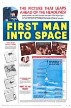 First Man into Space - 11 x 17 Movie Poster - Style B