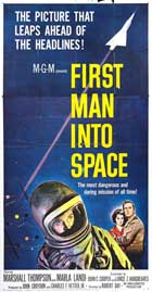 First Man into Space - 20 x 40 Movie Poster - Style A