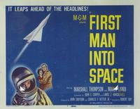 First Man into Space - 11 x 14 Movie Poster - Style H