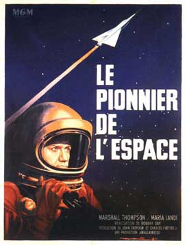 First Man into Space - 11 x 17 Movie Poster - French Style A