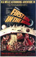 First Men in the Moon - 11 x 17 Movie Poster - Style A