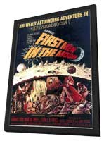 First Men in the Moon - 11 x 17 Movie Poster - Style A - in Deluxe Wood Frame