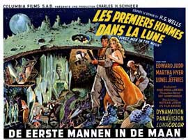 First Men in the Moon - 11 x 17 Movie Poster - Belgian Style A