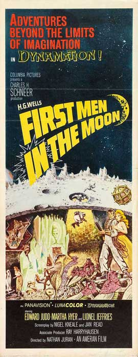 First Men in the Moon - 14 x 36 Movie Poster - Insert Style A