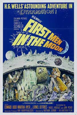 First Men in the Moon - 27 x 40 Movie Poster - Style B