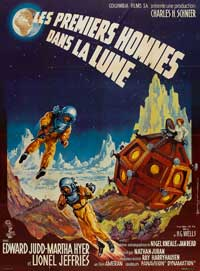 First Men in the Moon - 27 x 40 Movie Poster - French Style A