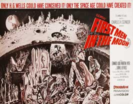 First Men in the Moon - 22 x 28 Movie Poster - Half Sheet Style B