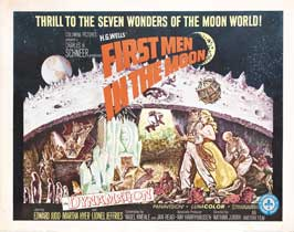 First Men in the Moon - 22 x 28 Movie Poster - Canadian Style A