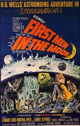 First Men in the Moon - 11 x 17 Movie Poster - Style D