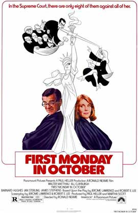 First Monday in October - 11 x 17 Movie Poster - Style A