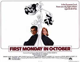 First Monday in October - 11 x 14 Movie Poster - Style A