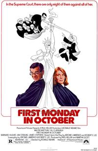 First Monday in October - 27 x 40 Movie Poster - Style A