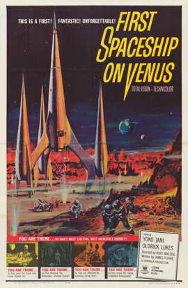 First Spaceship on Venus - 11 x 17 Movie Poster - Style A