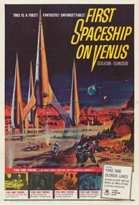 First Spaceship on Venus - 27 x 40 Movie Poster - Style A