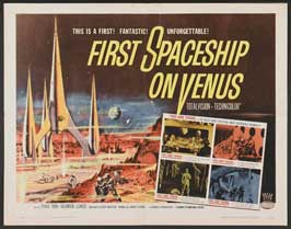 First Spaceship on Venus - 11 x 14 Movie Poster - Style A