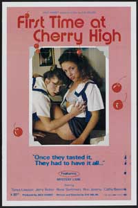 First Time At Cherry High - 43 x 62 Movie Poster - Bus Shelter Style A