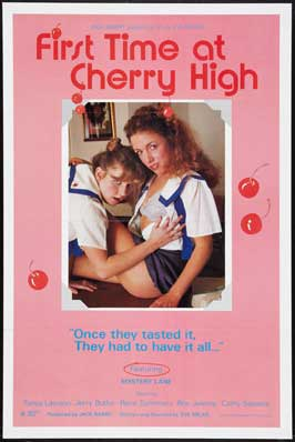 First Time At Cherry High - 27 x 40 Movie Poster - Style B