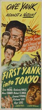 First Yank Into Tokyo - 14 x 36 Movie Poster - Insert Style A