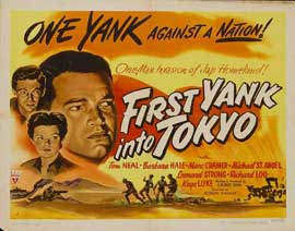 First Yank Into Tokyo - 22 x 28 Movie Poster - Half Sheet Style A
