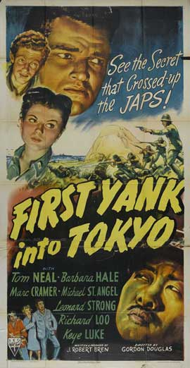 First Yank Into Tokyo - 11 x 17 Movie Poster - Style B