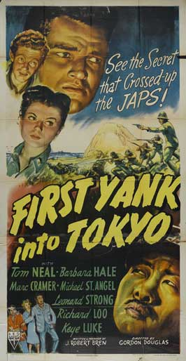 First Yank Into Tokyo - 27 x 40 Movie Poster - Style A