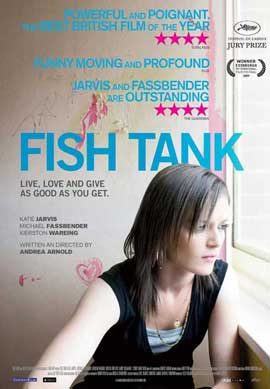 Fish Tank - 11 x 17 Movie Poster - Swiss Style A