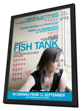 Fish Tank - 27 x 40 Movie Poster - Style A - in Deluxe Wood Frame