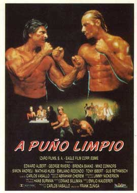 Fist Fighter - 11 x 17 Movie Poster - Spanish Style A