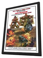 A Fistful of Dynamite - 27 x 40 Movie Poster - Style C - in Deluxe Wood Frame