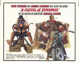 A Fistful of Dynamite - 22 x 28 Movie Poster - Half Sheet Style A