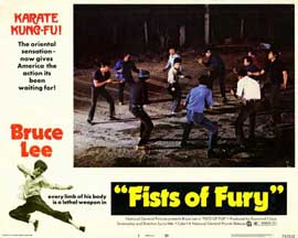 Fists of Fury - 11 x 14 Movie Poster - Style A