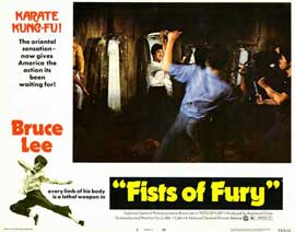 Fists of Fury - 11 x 14 Movie Poster - Style B